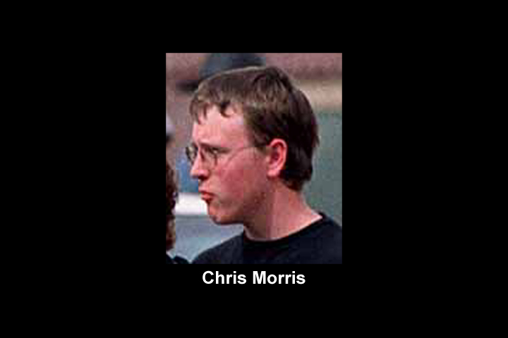 Image of photograph of TCM co-founder and alleged 4/20 attacker Chris Morris